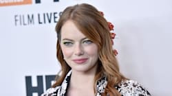 Emma Stone Wore A Bouquet Of Roses In Her Hair Like A Disney