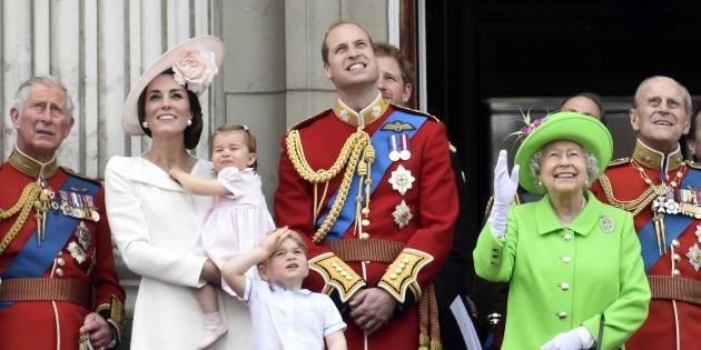 Membros da Família Real.