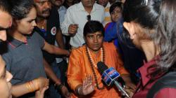 For The 'Misbeliever', Saffron Is Always Linked To Terror, Sadhvi Pragya Thakur Blames Congress For Her