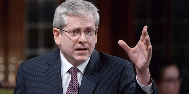 NDP MP Charlie Angus speaks in the House of Commons in Ottawa on April 12, 2016.