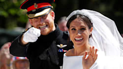Queen Elizabeth's Previously Unseen Photo Of Prince Harry And Meghan Markle Is Too