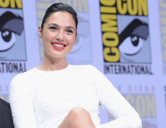 Gal Gadot is white-hot in a bodycon mini