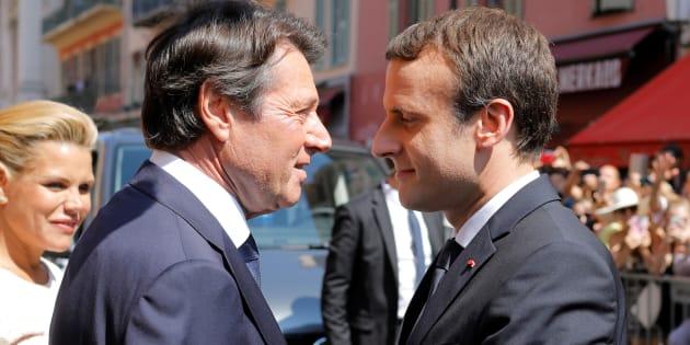 Le baiser de la mort de Christian Estrosi à Emmanuel Macron sur l'immigration