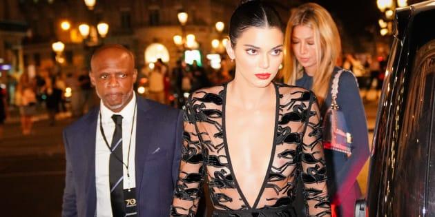 Kendall Jenner éblouissante aux 70 ans de la maison Longchamp à l'opéra Garnier