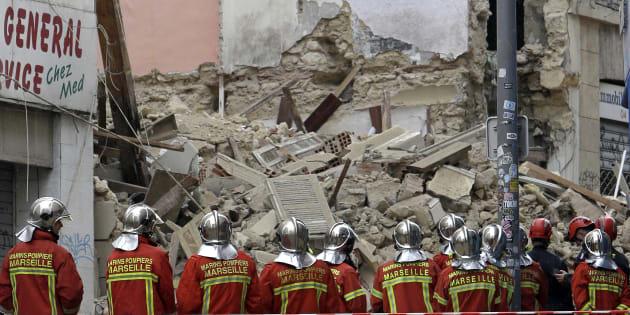 À Marseille, un septième corps a été découvert sous les décombres d'immeubles effondrés.