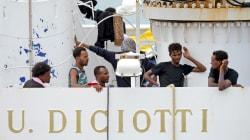 Los países de la UE no alcanzan un acuerdo para repartir a los migrantes a bordo del buque italiano