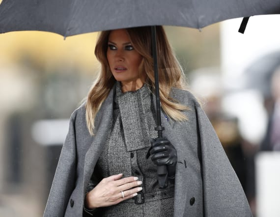 Melania publicly calls for White House aide's firing