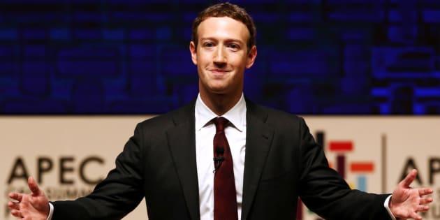 Mark Zuckerberg au Pérou le 19 novembre 2016.