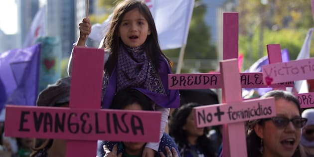 Este 25 de noviembre, mujeres marcharon en CDMX para eliminar cualquier tipo de violencia de género