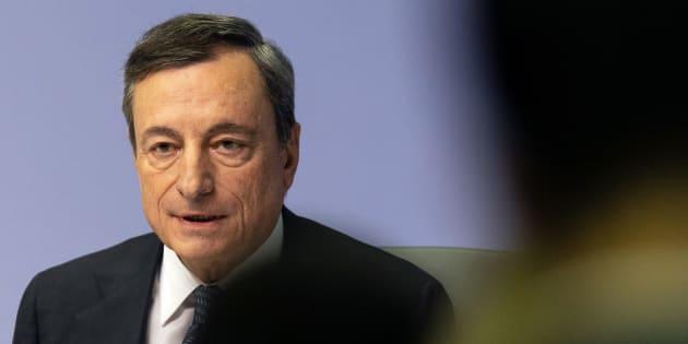 """Mario Draghi avverte sul debito: """"La mancanza di stabil"""