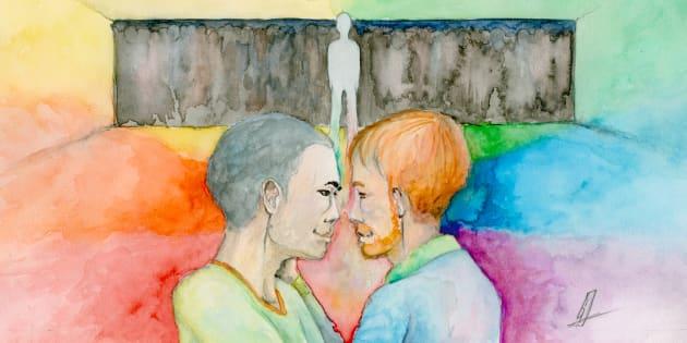 J'ai pris conscience que j'étais homosexuel à 35 ans, après un mariage et des enfants.