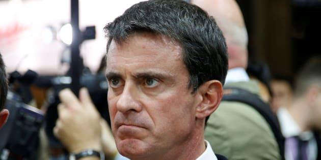 """Manuel Valls: """"Ségolène Royal a affaibli l'autorité de l'État"""""""
