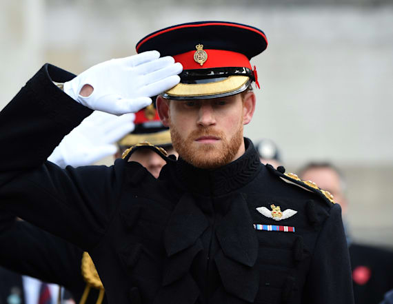 Prince Harry's beard causes controversy
