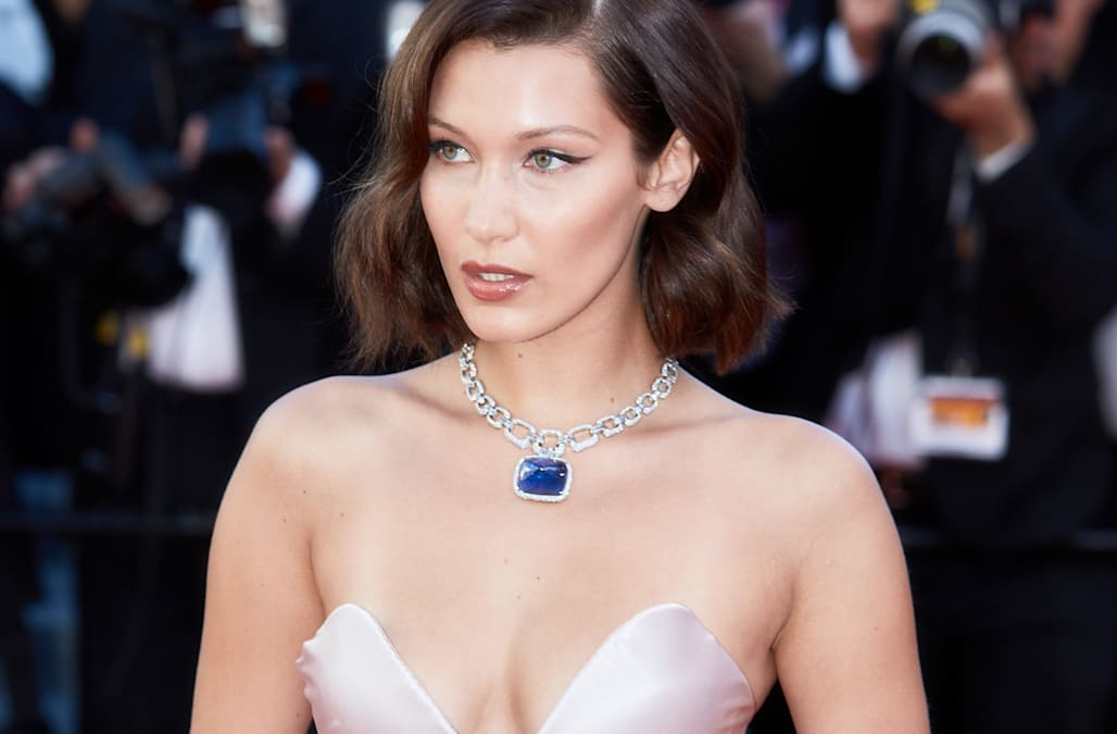 Bella Hadid suffers wardrobe malfunction at Cannes Film Festival -- again!