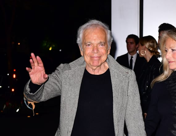 Ralph Lauren receives honorary knighthood from queen
