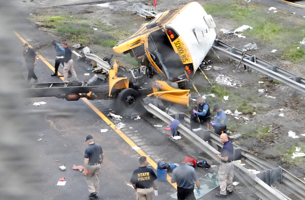 Driver in deadly nj bus crash has history of speeding for Motor vehicle suspension nj