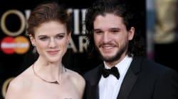Kit Harington (Jon Snow) y Leslie Rose (Ygritte) anuncian su