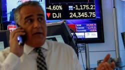 Wall Street sufre la segunda mayor caída en toda su