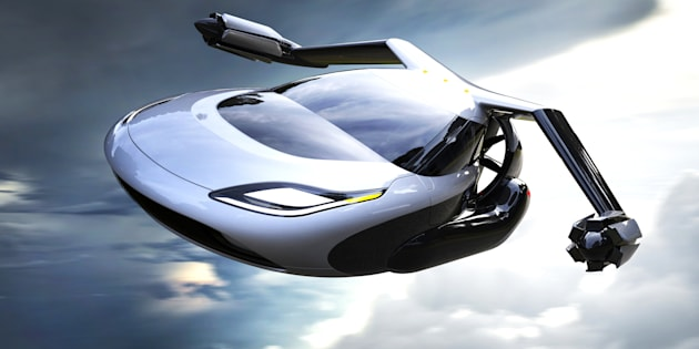 TF-X, le concept de voiture volante imaginé par la société Terrafugia.