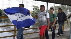 Llegan cientos de migrantes centroamericanos a