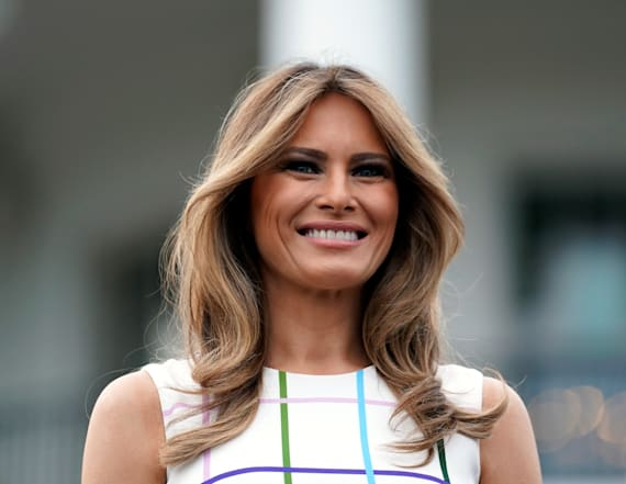 Italy's Berlusconi says he likes Melania's 'beauty'