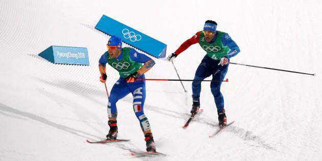 JO d'hiver2018: le bronze pour la France sur le sprint messieurs