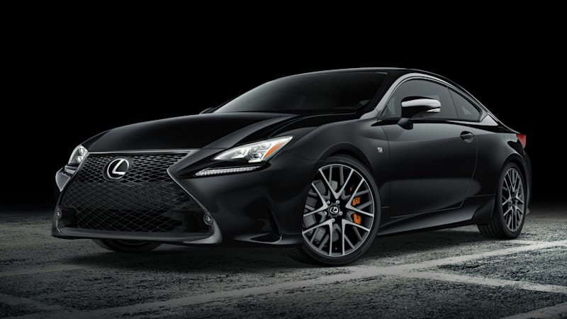 Lexus building just 650 Black Line RC coupes