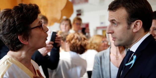 """""""M. Macron, ne tirez plus sur l'hôpital, notre pacte social en dépend!"""""""