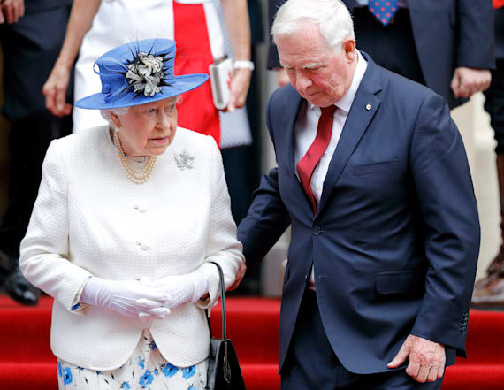 Official who touched the queen explains why he did