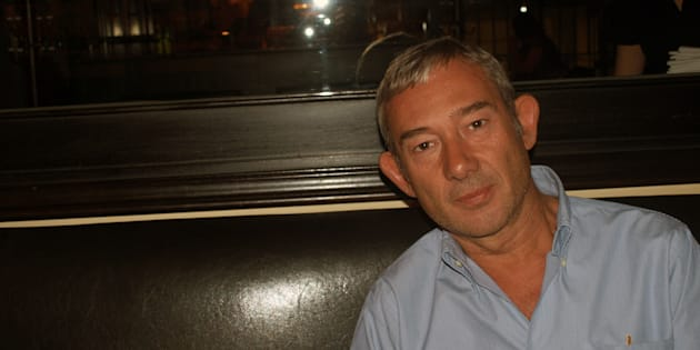 El periodista Enric González, retratado en Jerusalén en 2010.