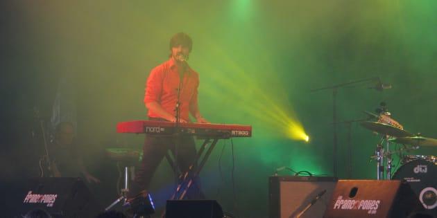 Damien Robitaille a déjà offert une performance aux Québecofolies dans le cadre des Francofolies de Spa en Belgique.