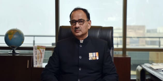 Alok Verma in a file photo.