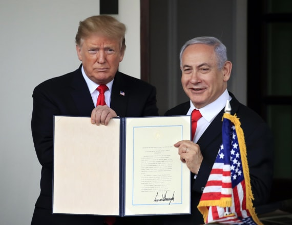 Netanyahu wants to name new settlement after Trump