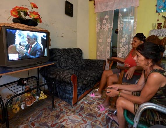 Cuba swears in Miguel Diaz-Canel as new president