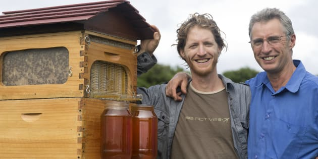 Cedar and Stuart Anderson's Flow Hive was the most crowdfunded campaign outside the U.S.