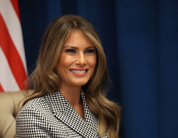 Trump camp sends out poll to rate Melania Trump
