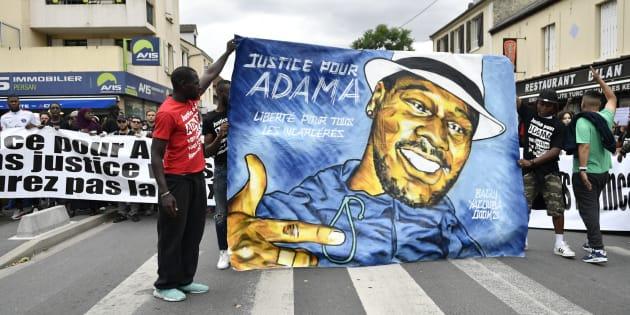 """Adama Traoré: deux ans après sa mort, une marche pour dénoncer un """"déni de justice"""" (photo d'illustration)"""
