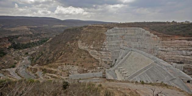 La presa El Zapotillo.