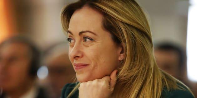 """Giorgia Meloni: """"Votatemi per far fuori i 5 stelle dal"""