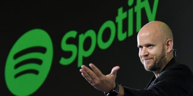 Daniel Ek, le PDG de Spotify, est en négociation avec les majors du disque.