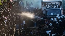 VIDEO: Enfrentamientos violentos entre manifestantes y policías en el G20 en
