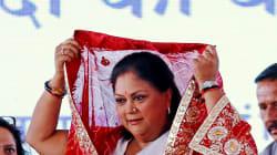 Vasundhara Raje Says She Felt Insulted By Sharad Yadav's Remarks, Wants EC