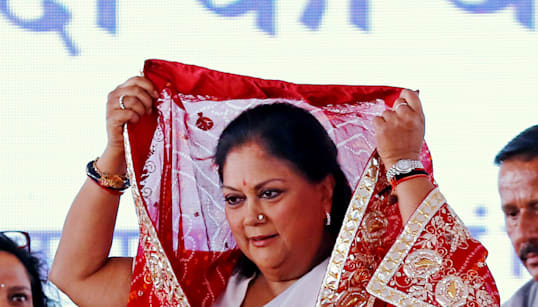 Vasundhara Raje Says She Felt Insulted By Sharad Yadav's Remarks, Wants EC