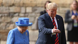 Rencontre sous haute surveillance entre Trump et la reine Élisabeth