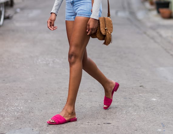 This is the number one selling shoe style for summer