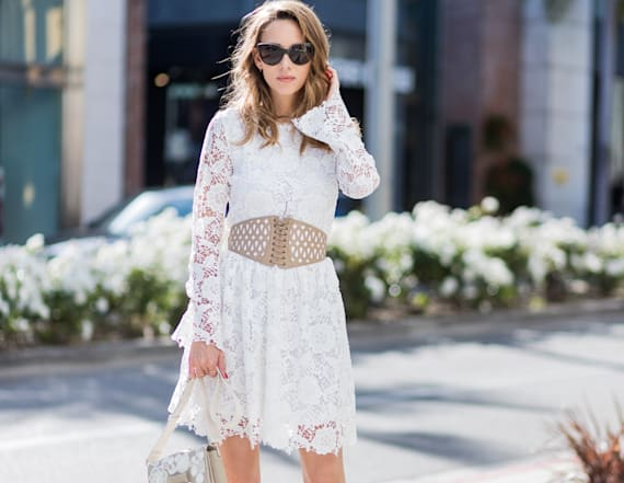 27 little white dresses to replace your LBD
