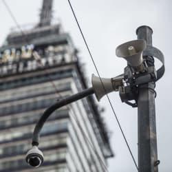 Hay 757 altavoces que no emiten el sonido de la alerta sísmica en