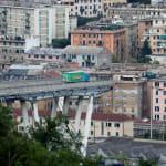 Ce camionneur engagé sur le viaduc de Gênes a échappé de très peu à