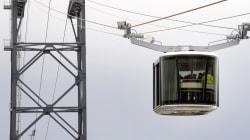 Le premier téléphérique urbain de France est entré en service (après un