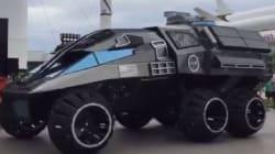 Ce prototype de rover martien de la Nasa ringardise complètement